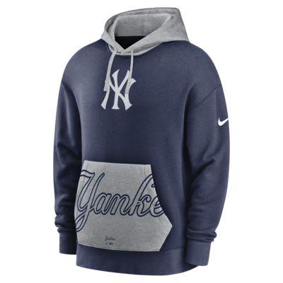 Nike Crop Pocket Heritage (MLB New York Yankees) Men's Pullover Hoodie