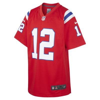 NFL New England Patriots (Tom Brady) Older Kids' Game Jersey