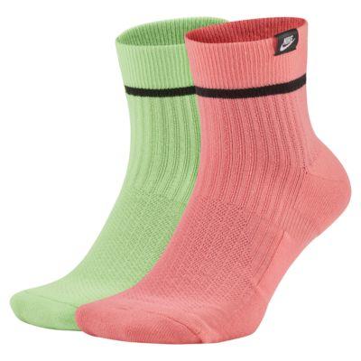 Kotníkové ponožky Nike SNEAKR Sox (2 páry)