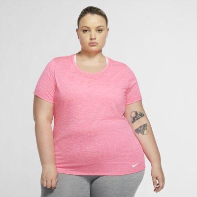 Camiseta de entrenamiento de manga corta para mujer Nike Dri-FIT Legend (talla grande)