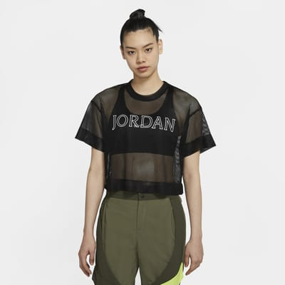 Jordan Utility Women's Short-Sleeve Mesh Top