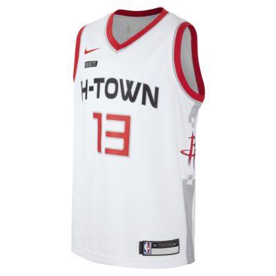Rockets City Edition Older Kids' Nike NBA Swingman Jersey