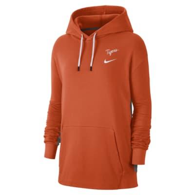 Nike College (Clemson) Women's Fleece Pullover Hoodie