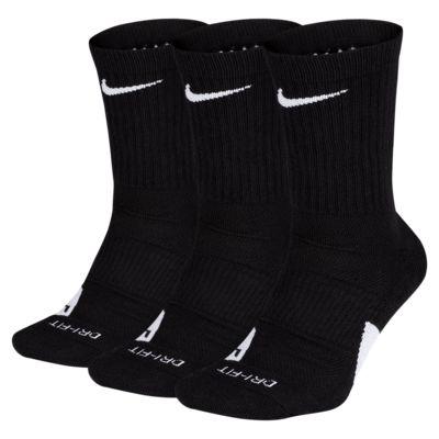 Calcetines largos de básquetbol Nike Elite (3 pares)
