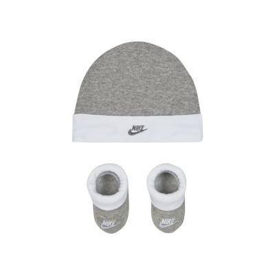 Nike Baby Hat and Booties Box Set
