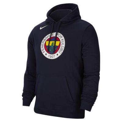 Felpa pullover con cappuccio Nike Basketball Club Fleece - Uomo
