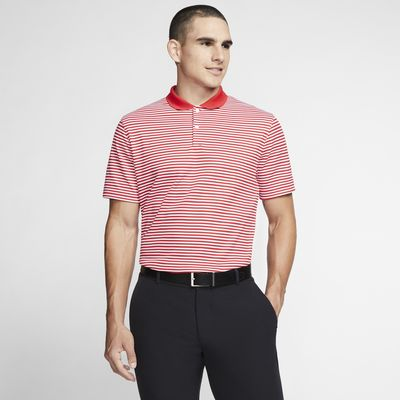 Męska koszulka polo do golfa w paski Nike Dri-FIT Victory