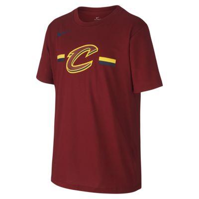 Tee shirt NBA Cleveland Cavaliers Nike Dri FIT Logo pour Enfant plus âgé