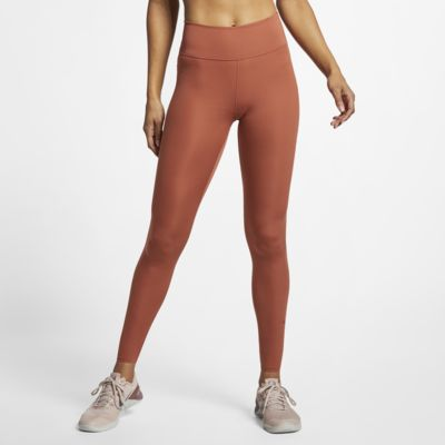 Nike One Luxe Damen-Tights mit halbhohem Bund