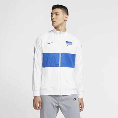 Hertha BSC Men's Football Tracksuit Jacket