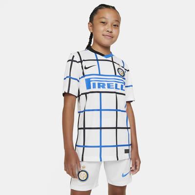 Maillot de football Inter Milan 2020/21 Stadium Extérieur pour Enfant plus âgé