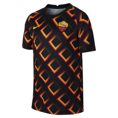 Κοντομάνικη ποδοσφαιρική μπλούζα A.S. Roma για μεγάλα παιδιά