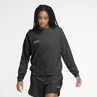 Nike F.C. langermet fotballoverdel til dame