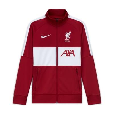 Veste de survêtement de football Liverpool FC pour Enfant plus âgé
