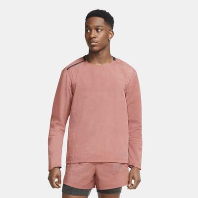 Ανδρική υφαντή ενδιάμεση μπλούζα για τρέξιμο Nike Run Division