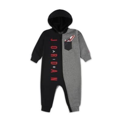 Jordan 婴童全长拉链开襟连体衣