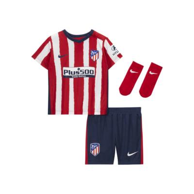 Fotbollsställ Atlético de Madrid 2020/21 (hemmaställ) för baby/små barn