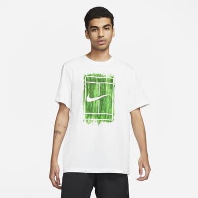 NikeCourt Tennisshirt met graphic voor heren