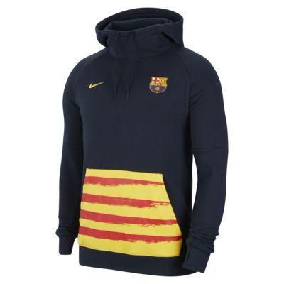 Lionel Messi barcelona Pullover Hoodie Black Front /& Back