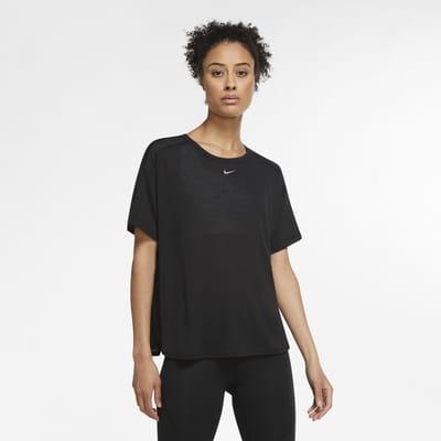 Haut à manches courtes Nike Pro AeroAdapt pour Femme