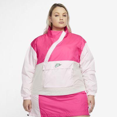 Anorak De Tejido Woven Para Mujer Nike Sportswear Icon Clash Talla Grande Nike Com