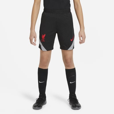 Liverpool F.C. Strike Older Kids' Football Shorts