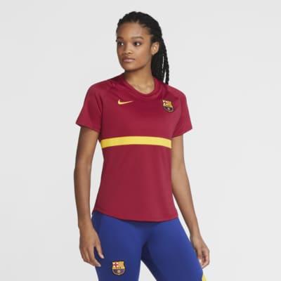 Haut de football à manches courtes FC Barcelona Academy Pro pour Femme