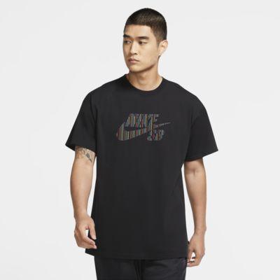Skateboard-t-shirt Nike SB Logo för män