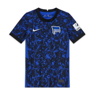 Hertha BSC 2020/21 Stadium Away-fodboldtrøje til store børn