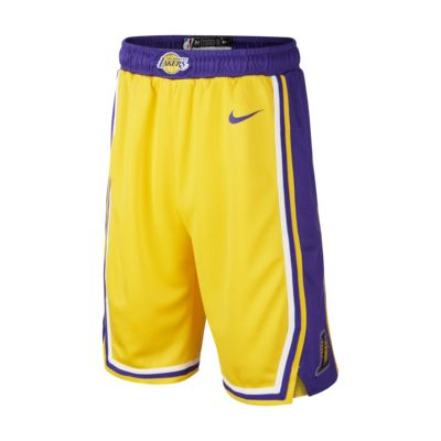 Los Angeles Lakers Icon Edition Swingman Older Kids' Nike NBA Shorts