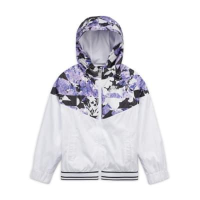Nike Sportswear Windrunner-jakke med lynlås til mindre børn