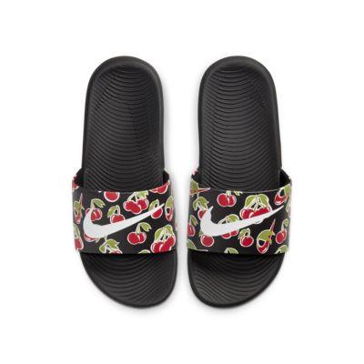 Pantofle Nike Kawa SE Picnic pro malé/větší děti