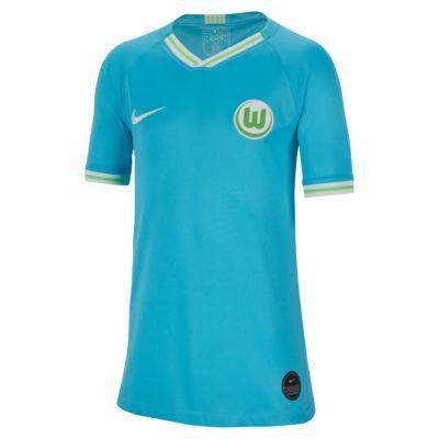 VfL Wolfsburg 2019/20 Stadium Away Older Kids' Football Shirt