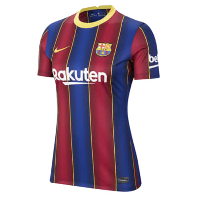 FC Barcelona Women 2020/21 Stadium Home Women's Soccer Jersey