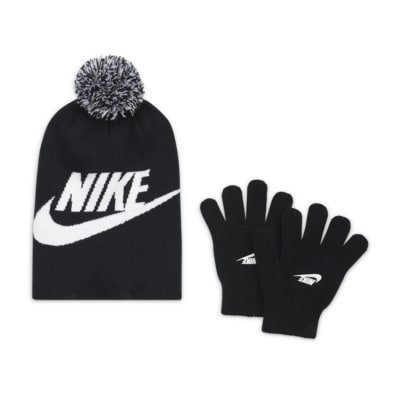 Nike Older Kids' Beanie and Gloves Box Set