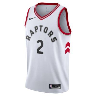 多伦多猛龙队 (Kawhi Leonard) Association Edition Swingman Jersey Nike NBA Connected Jersey 男子球衣