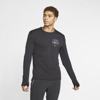 Langærmet Nike Therma Sphere 3.0 NYC-løbetrøje til mænd