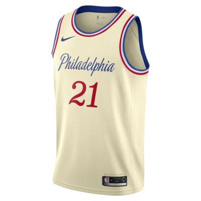 Joel Embiid 76ers – City Edition Nike NBA Swingman Jersey