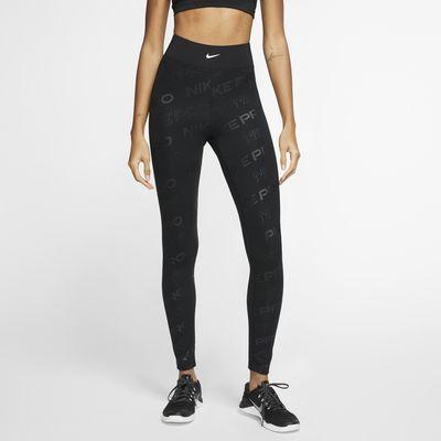 Женские тайтсы с принтом Nike Pro
