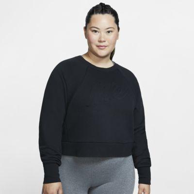 Top de entrenamiento de manga larga para mujer talla grande Nike Dri-FIT Lux