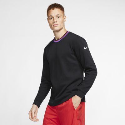 Męska koszulka z długim rękawem do koszykówki Nike Dri FIT