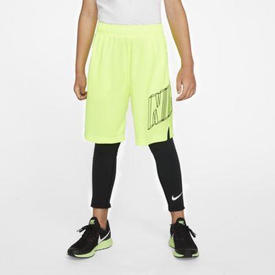 Nike Pro treningstights til store barn (gutt)