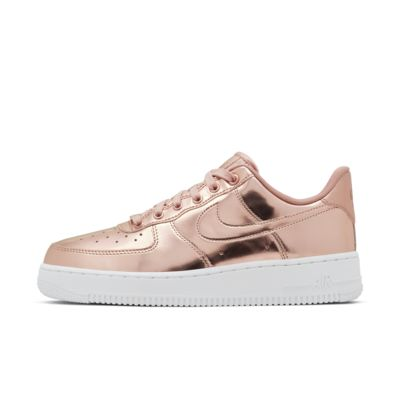 nike air force 1 rose et blanche