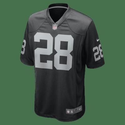 NFL Oakland Raiders Game (Josh Jacobs) Men's Football Jersey
