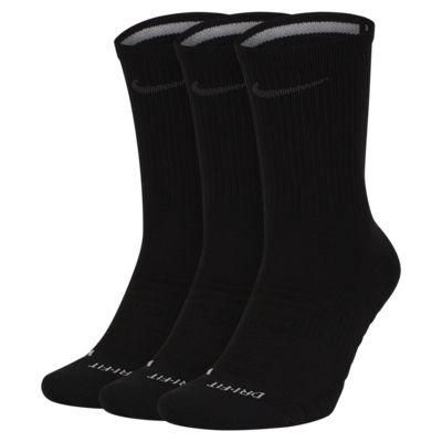 Středně vysoké tréninkové ponožky Nike Pro Everyday Max Cushioned (3 páry)