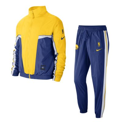 Golden State Warriors Courtside Nike NBA-trainingspak voor heren