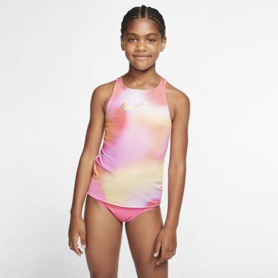 Nike Spectrum Big Kids' (Girls') Spider Back Tankini Set