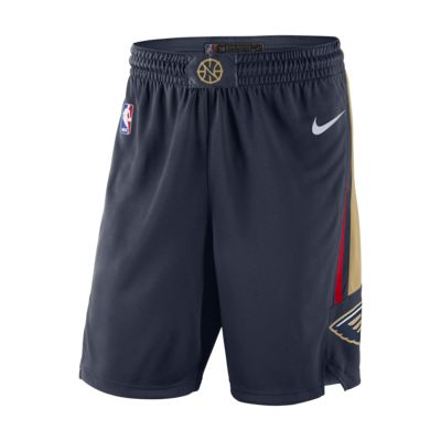 New Orleans Pelicans Icon Edition Swingman Men's Nike NBA Shorts