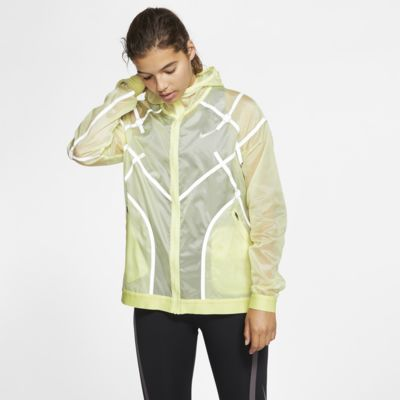 Nike City Ready Damen-Laufjacke mit Kapuze
