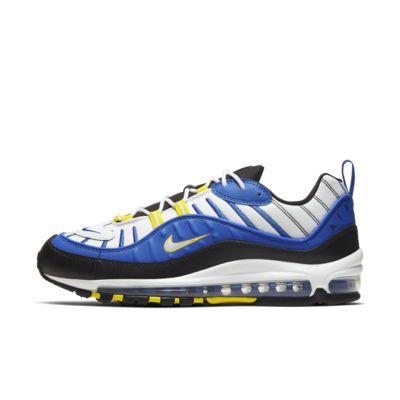 air max 98 neon black blue